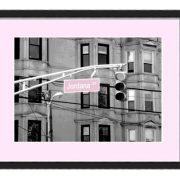 Hoboken Sign Pink
