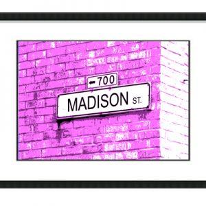 Brick Wall Pink