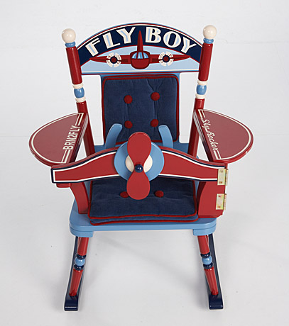 rocking chair fly boy airplane promises fulfilled