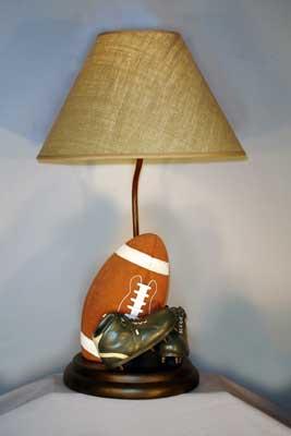 Vintage football table lamp promises fulfilled vintage football table lamp aloadofball Choice Image