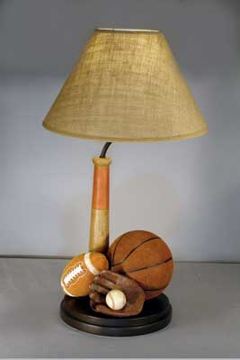 Vintage sport table lamp promises fulfilled vintage sport table lamp mozeypictures Choice Image